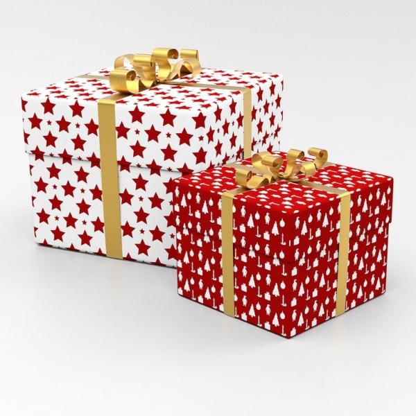 presents, packages, gifts